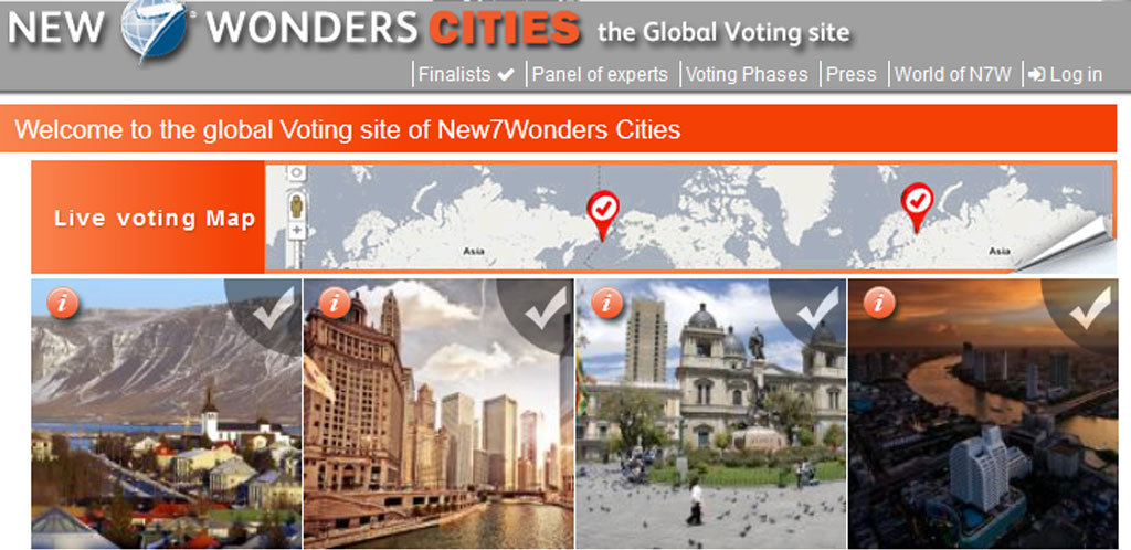 New7Wonders Cities